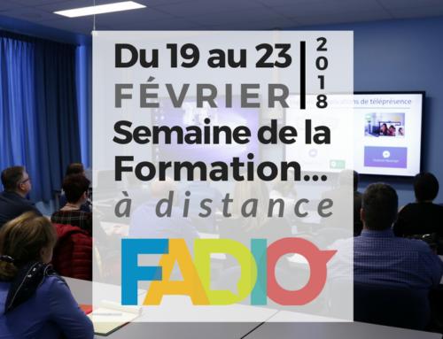 Une première Semaine de la formation à distance pour FADIO