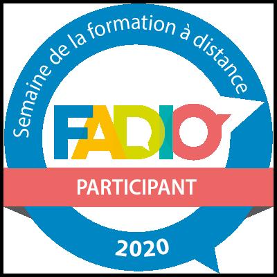 Semaine de la formation à distance 2020 - Participant